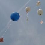 Ballons flogen bis hinter Calbe