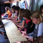 Das Bibel-Mobil war auf dem Schulhof