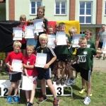 Kinder starten erfolgreich bei Wettkämpfen