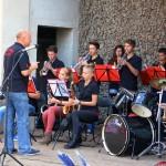 Schon Tradition: Die Dixie-Band Aschersleben unter der Leitung von Alexander Erpilev sorgt für einen beschwingten Auftakt.