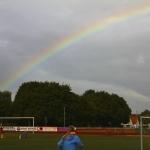 Sportfest unterm Regenbogen