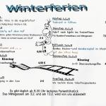 Programm in den Winterferien