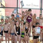Viele Medaillen bei Schwimmwettkämpfen