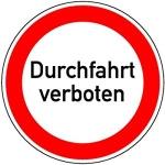 Achtung Eltern-Taxis: Straße ist gesperrt!
