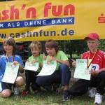Erfolgreiche Teilnahme bei den Kreis-, Kinder- und Jugendspielen